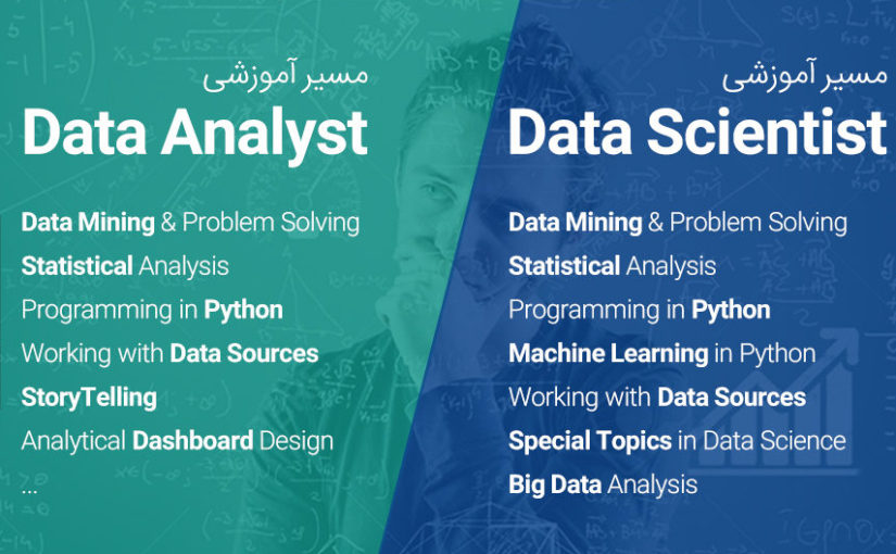 """ثبت نام مسیرهای آموزشی """"علوم داده"""" با ظرفیت محدود شروع شد!"""